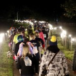 Hospice supporters shine bright at Starlight Hike