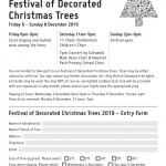 The 21st Emmanuel Festival of Decorated Christmas Trees