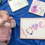 Xmas Tiny Treasures: Create unique craft baby keepsakes together