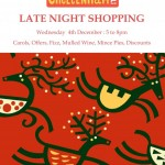 Suffolk and Tivoli Traders Christmas Late Night Shopping