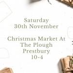 Christmas Market at The Plough Prestbury