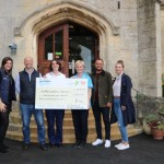 Cheers! Cheltenham pubs celebrate raising nearly £5,000 for local hospice