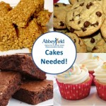 WE NEED YOUR HELP - CAKES NEEDED