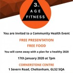 Community Health Event: FREE PRESENTATION AND FREE FOOD!