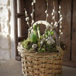 Spring Planted Basket: Cotswolds