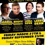 Scallywags Comedy Night