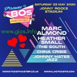 'Fall in love with the 80s' COMPETITION - Win one of a pair of tickets for the Golden Circle at 'Discover the 80s' Cheltenham
