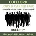 Coleford Jobs & Career Fair - Jobs to be gained, careers to be changed