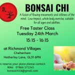Bonsai Chi Class - Free Taster Session - Exercise for All at Richmond Villages
