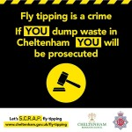 New campaign urges residents to SCRAP fly-tipping