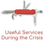 Really Useful Services During the Crisis - That will come in handy at the moment - From a range of local businesses