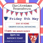Celebrate VE Day safely at home on Friday 8th May - Tomorrow