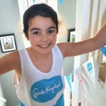 Nine year-old Evie's epic Everest stair climb for Sue Ryder hospice