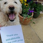 Winner of £260 cash Prize Announced! Oscar and his Mum were very happy to win