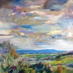 COMPETITION: WIN an A3 Print of Anna Martin's Painting of the Cotswolds