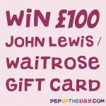 COMPETITION: WIN a £100 John Lewis / Waitrose gift card