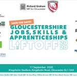 Gloucestershire Jobs, Skills and Apprenticeships Lift Off Day at Kingsholm