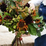 Seasonal Hand-tied Bouquet: Brompton Cross