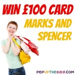 COMPETITION - WIN a M&S Gift Card Worth £100!