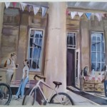 Tamsin Stuart makes second artwork for the Pittville Pump Room