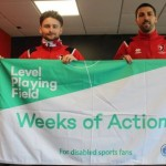 Cheltenham Town support Level Playing Field's 'Weeks of Action' campaign