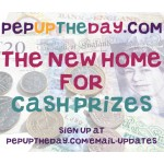 PepUpTheDay.com will be the new home for Cash Prizes!