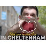 VisitCheltenham are delighted to welcome locals and visitors to discover / rediscover their 'Happy Place in Cheltenham' 💛