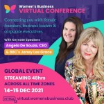 BRAND NEW COMPETITION to Win a pair of tickets to the Women's Business Conference & Awards 2021 - Worth £228