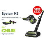 Get the Gtech System K9 now for only £249.98 and receive a FREE Car Accessory Kit! A SAVING OF £220!