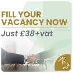 Fill your job vacancy now - Just £35+vat