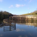 Reflections at Capel's Mill - Photo
