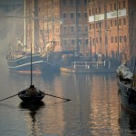 Filming at Gloucester Docks - photo collection