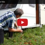 Touring Caravan For Hire, for: holidays, festivals, exploring, adventure - Video