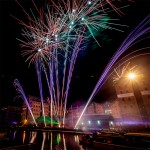 Stunning Fireworks Display at Gloucester Docks - photo collection