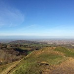 Beautiful views from Painswick Beacon
